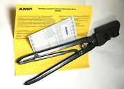 Amp Tyco Te Connectivity Crimper 69710-1 Hand Crimp Tool With 59993-1 Die Set