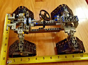 Lego Technic 4 Wd With Caterpillar Wheels And Servo Mount And Steering New Parts