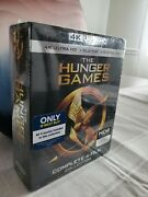 The Hunger Games Collection 4k Blu-ray/blu-ray/no Digital