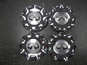 Set Of 4 Oem 2008-2010 Infiniti Qx56 Chrome Center Caps 40315-zq10a 73698