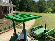 John Deere Green 48 Universal Plastic Tractor And Lawn Mower Top Canopy