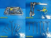 Pilling Jarit Complete Professional Er /sticu Thoracotomy Instruments Tray22232