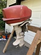 Scott Atwater 40 Hp Electric Start Outboard Motor