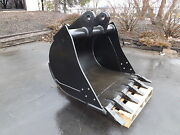 New 36 Backhoe Bucket For A John Deere 410c With Coupler Pins