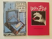 Death Of The Plankton Bar And Grill Wax Lips By Kathryn Nocerino Signed