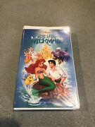 The Little Mermaid Out Of Print Controversial Cover Rare 1st Label Disney Vhs