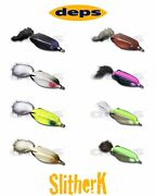 Deps Slither K Hollow Body Topwater Frog Lure - Select Colors