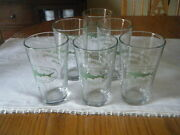 Dogfish Head Beer Pint Glass Lot Set Of 6 Glasses 16 Oz New Off Centered Ales