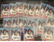 1976 Topps Dennis Eckersley Rc 98 Andldquonm+andrdquo Cleveland Indians Hof Lot Of 15 Beauty