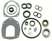 Lower Unit Gearcase Seal Kit For Mercruiser Alpha I Gen Ii 2 18-2646 26-816575a3