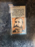 R36 Fleer Cops And Robbers 1935 26 Nosey-nertz Orange. Evidence Tab Attached