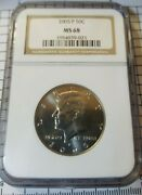 2005-p Kennedy 50c Half Dollar Graded By Ngc Ms68 Mint State 68 Uncirculated