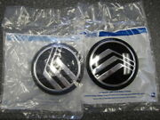 Two 2 Oem 1992-2006 Mercury Grand Marquis Wheel Cover Hubcap Center Emblems