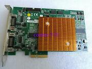 1pc Used Adlink Image/video Capture Card Pcie-cpl64 2-channel Pcie