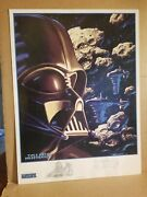 Darth Vader - Shadows Of The Empire - Signed Limited Edition Poster Hildebrandt