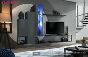 Wall Unit Wall Unit Wall Unit Switch M8 Gz High Gloss Pvc Push - Click Led B