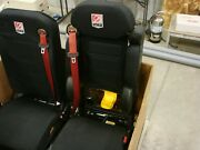 Smeal Fire Truck Scba Officer Seat