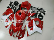 Red White Complete Fairing Injection Fit For 2008-2018 Suzuki Gsxr 1300r A15