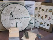 """Vtg 1989 Huggermugger The """"mystery"""" Word Adult Board Game Excellent Game Night"""