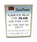 Sunflame Type- Fe-61r 84a172 Flame-eye Relay
