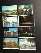 Lot 8 Vintage Museum Of Science And Industry Chicago,il Postcard Illinois Rare