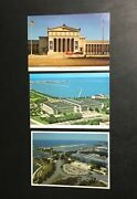 Lot 3 Vintage Field Museum Of Natural History Chicago,il Postcard Illinois