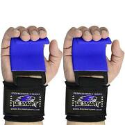 Weight Lifting Hooks Grips With Wrist Wraps And Straps Powerlifting Weightlifting