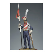 Polish Lancer Of The Imperial Guard Painted Tin Toy Soldier Pre Sale   Art