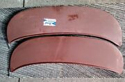 1 Pair Nors 1968 Ford Galaxie And Custom 500 Fender Skirts Foxcraft