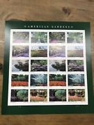 American Gardens Sheet Of 20 Forever Stamps Scott 5470a - 100 Sheets Mnh