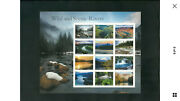 2019 5381 Wild And Scenic Rivers Pane Of 12 Forever Stamps100 Sheetsmnh