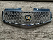 03-07 Cadillac Cts Chrome Fine Mesh Upper Front Hood Grill Grille Eandg Classic