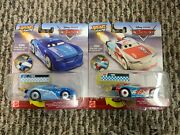 Disney Pixar Cars Xrs Rocket Racers Paul Conrev And Cam Spinner Lot Of 2