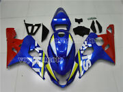 Blue Red Full Injection Fairing Fit For 2004 2005 Suzuki Gsxr 600 750 K4 Abs 60