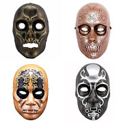 Harry Potter Death Eater Resin Mask Cosplay Props Halloween Movie Mask Cosplay