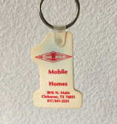Vintage Keychain Conner Mobile Homes Key Ring Fob Cleburnetx. 1 In The Nation