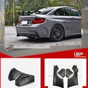 For Bmw F22 Manh-style Wide Body Kit +60mm Frp Unpainted Rear Fender Mudguards