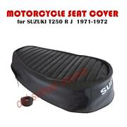 Motorcycle Seat Cover Suzuki T250 R J T 250 1971-72 Model And Seat Strap