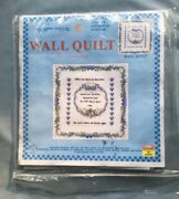 Jack Dempsey Stamped White Wall Or Lap Quilt 36x36-wedding, 739 51 Needle Art
