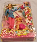 Brand New Unopened Barbie Potty Training Taffy Barbie Doll And Pet Dog 74677530238