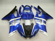 Blue White Black Injection Body Kit Fairing Fit For Yamaha Yzf R600 R6 2008-2016