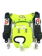 Canam X3 64 Front Limit Strap And Shock Tower Brace Kit - Xmr Manta Green
