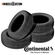 4 X New Continental Contiprocontact 205/65r16 95h All-season Grand Touring Tire