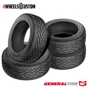 4 X New General Grabber Uhp 255/65r16 109h Summer Performance Tire