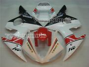 White Red Black Injection Fairing Fit For 2003-2005 Yamaha Yzf R6 Plastic Abs 25