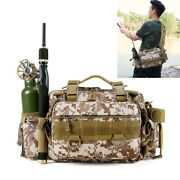 Outdoor Fishing Bag Camping Shoulder Mountaineering Hiking Waist Tactical Pack