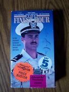 The Finest Hour Vhs 1991 Action War Navy Rare Oop Htf Rob Lowe Gale Hansen