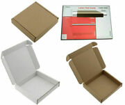 C5 A5 Brown Large Letter Size Box - Strong Cardboard Shipping Mailing Postal Pip