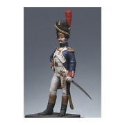 Grenadier-officer Of The Imperial Guard Painted Tin Toy Soldier Pre Sale | Art