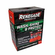 Renegade Products Usa Wash Shine And Protect Mini Kit Home Detailing And Car Care